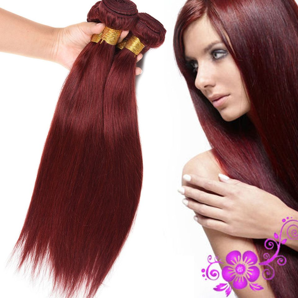 Best Selling Hair Weave Straight Color 33 Virgin Peruvian Hair