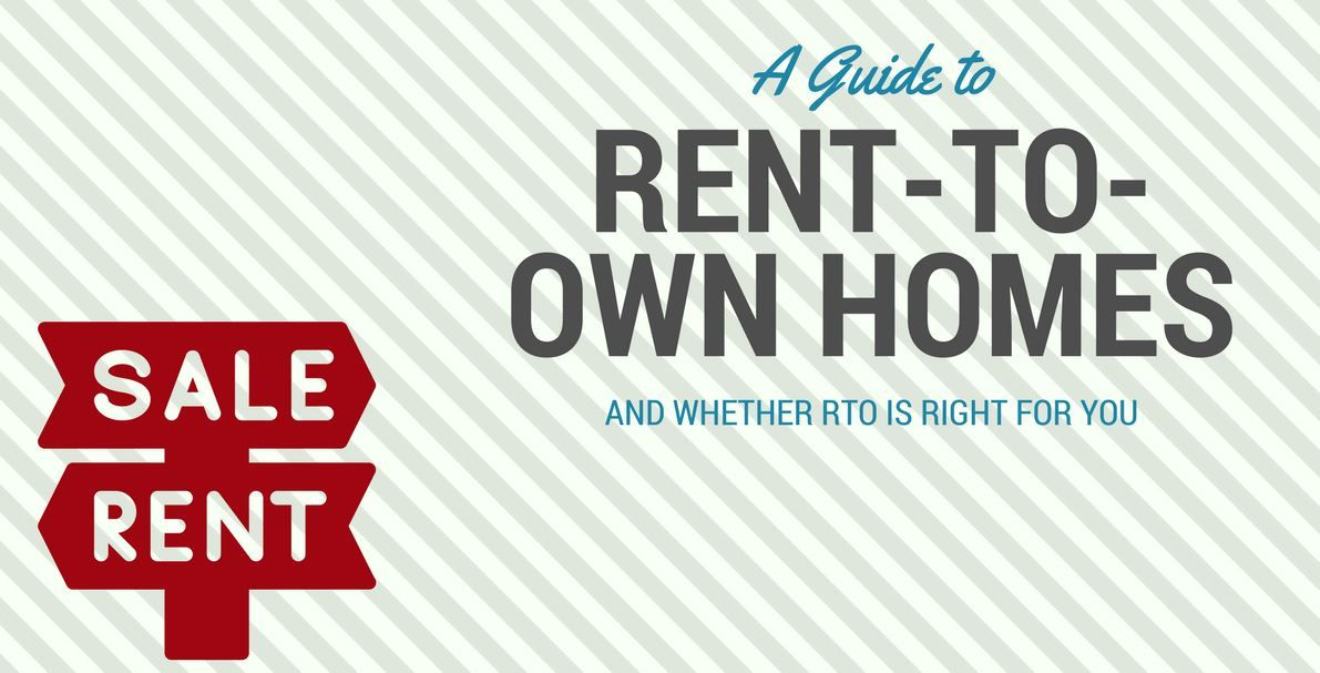 Rent To Own Home Contract | Rent To Own Homes A Buyer S Guide To The Lease Option My Gc House