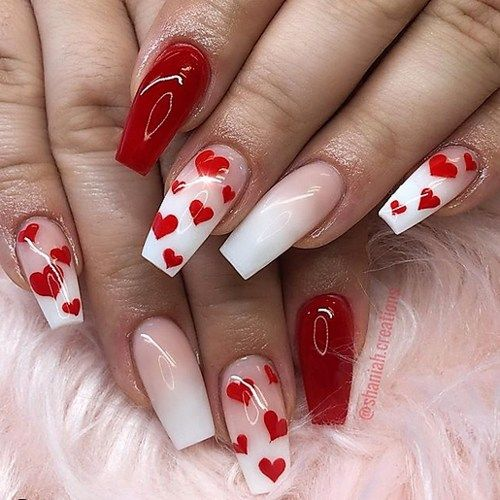 Valentines Day Nail Designs To Fall In Love With -
