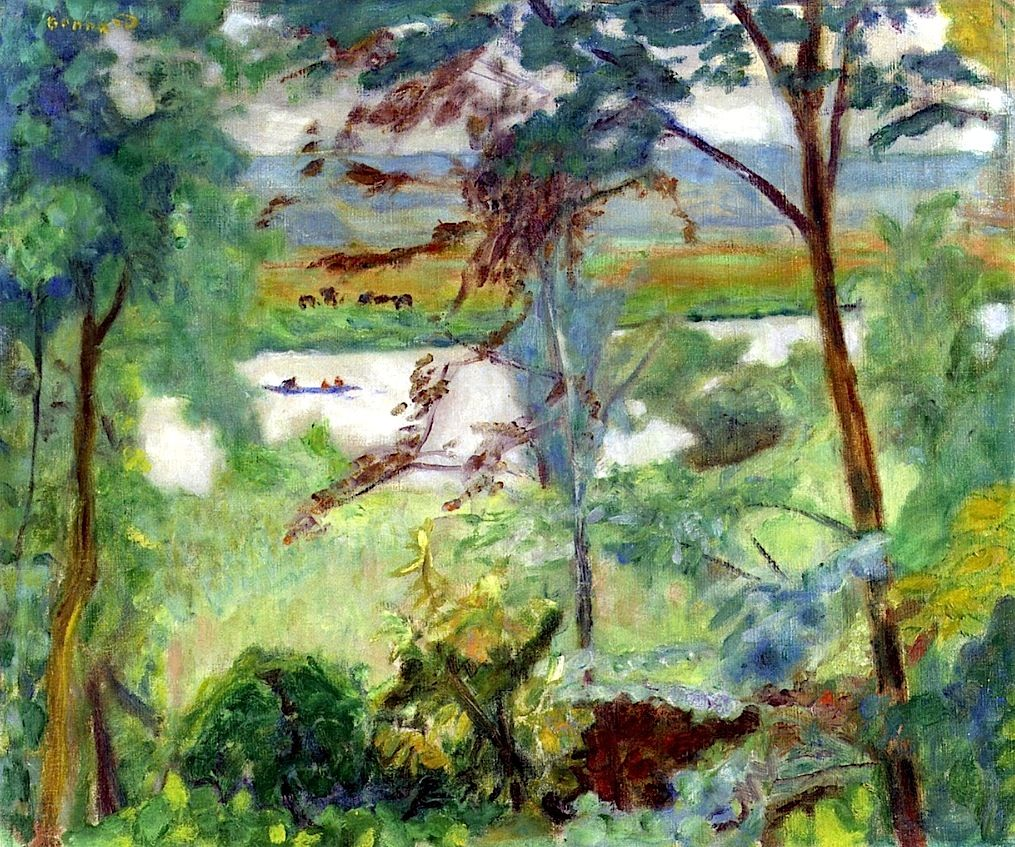 Grey Landscape, Vernon Pierre Bonnard - 1923