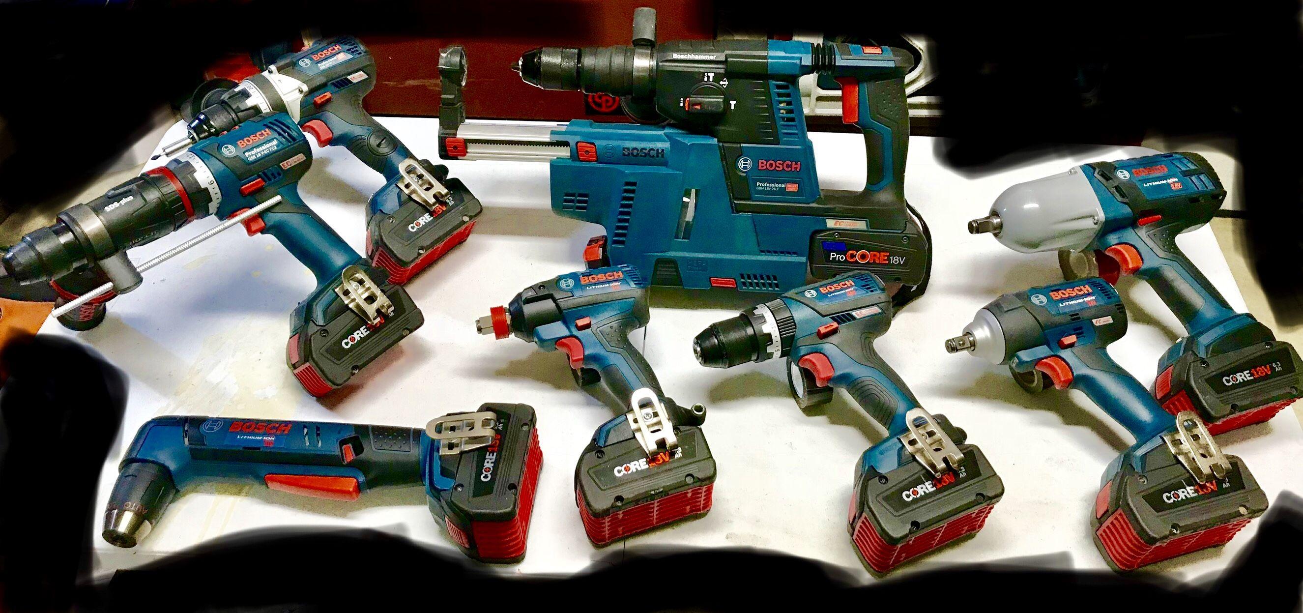 Bosch 18v Impacts Drills Bosch Tools Drill Bosch