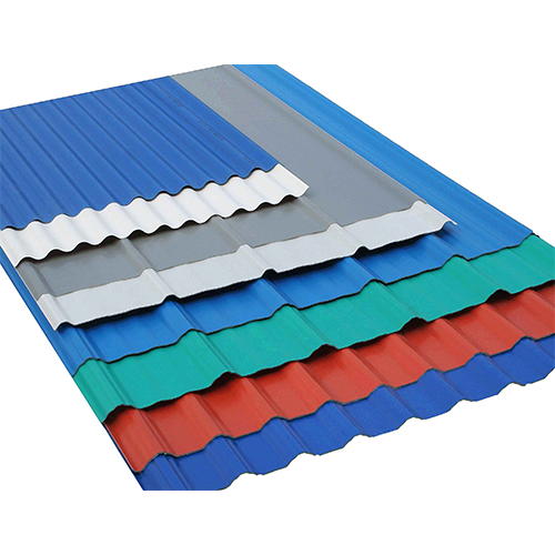 Color Roofing Sheet At Rs 65 Kilogram Sikri Village Faridabad Id 6391574662 In 2020 Roofing Sheets Pvc Roofing Metal Roof