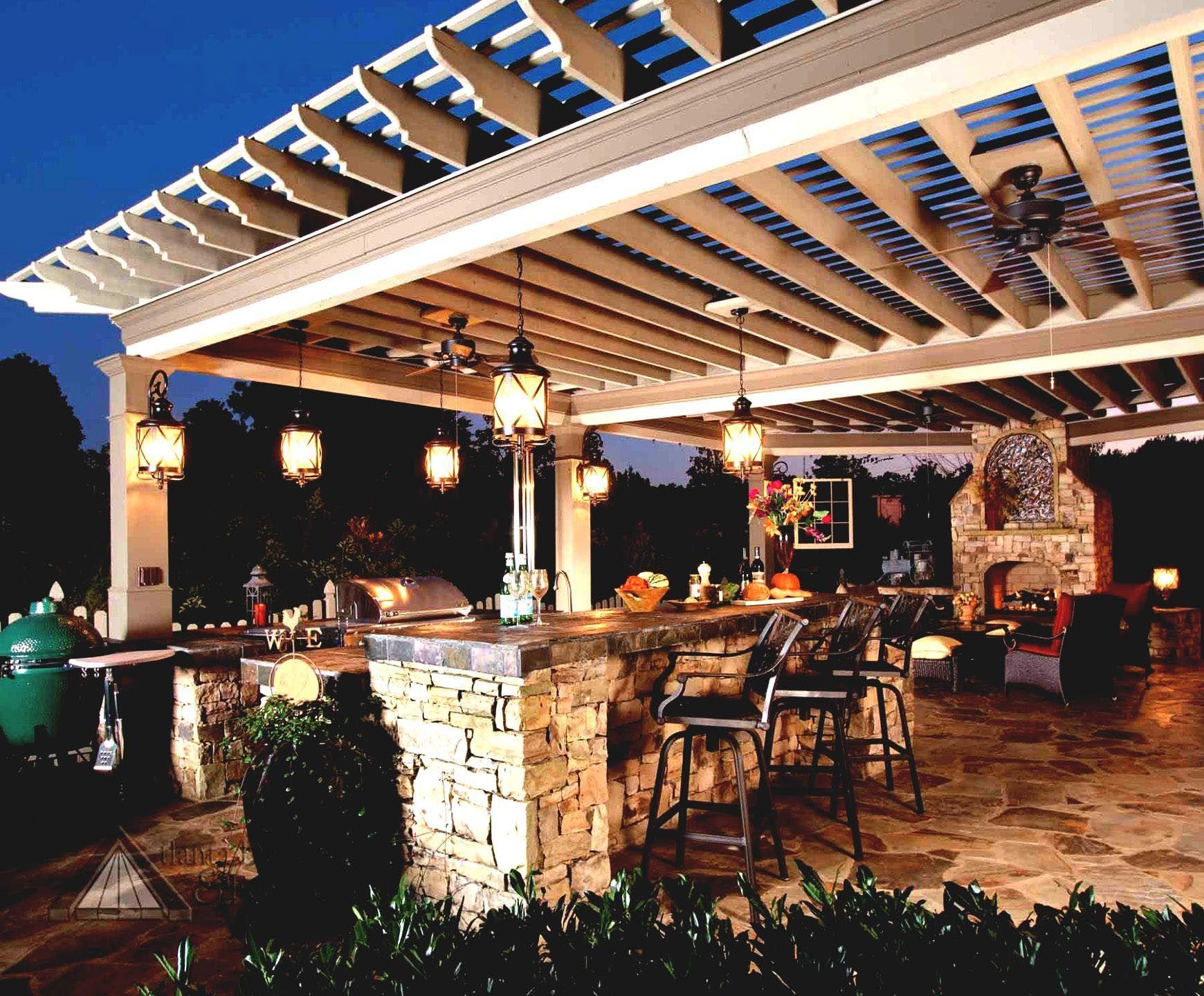 Outdoor Bar Lighting Fixtures Outdoor Kitchen Lighting Outdoor Kitchen Design Backyard Patio