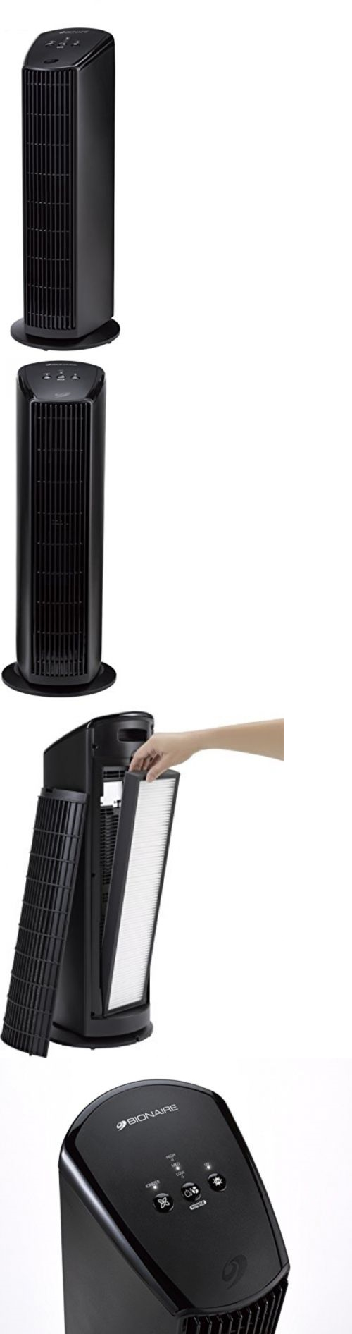 Air Purifiers 43510: Bionaire Permanent Filter Hepa Type Air Purifier With Germ-Fighting Uv, Bap536uv -> BUY IT NOW ONLY: $72.33 on eBay!