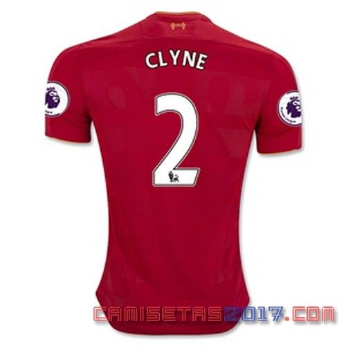 Camiseta CLYNE Liverpool 2016 2017 primera - Soccer shirts, Soccer jersey, Liverpool soccer