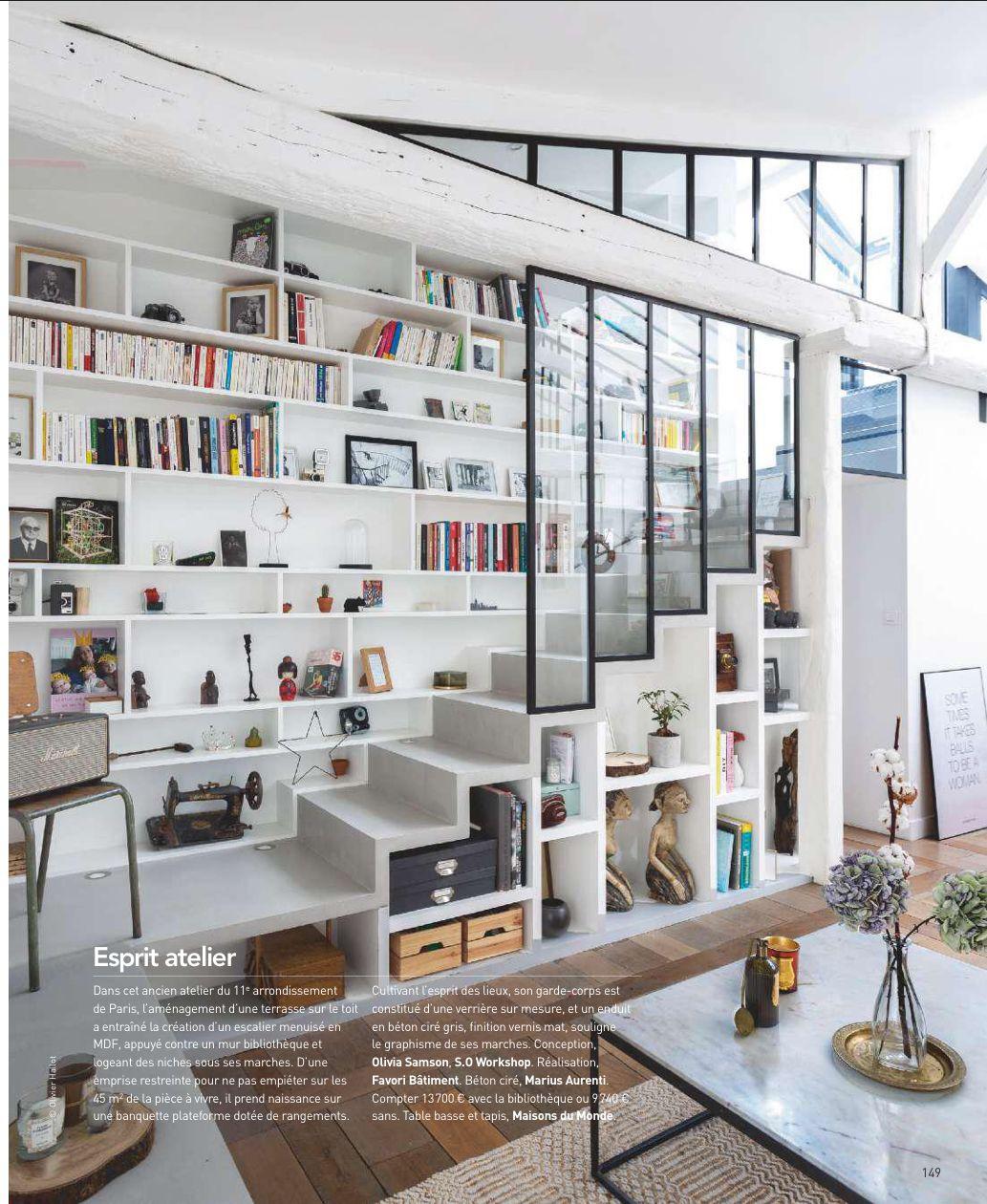 Escalier esprit atelier | Kirk home in 2019 | Home decor, Home, House