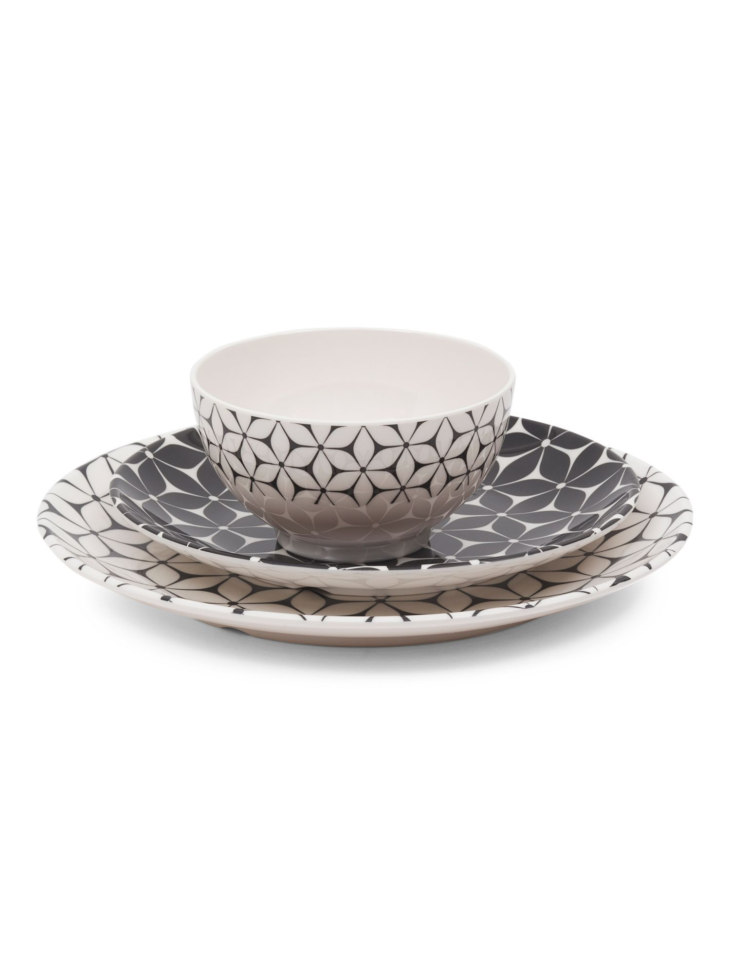 12pc Strata Outdoor Dinnerware Set | Products | Pinterest ...