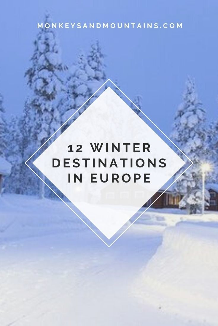 Photo of 12 Winter Destinations in Europe That You Have to Experience