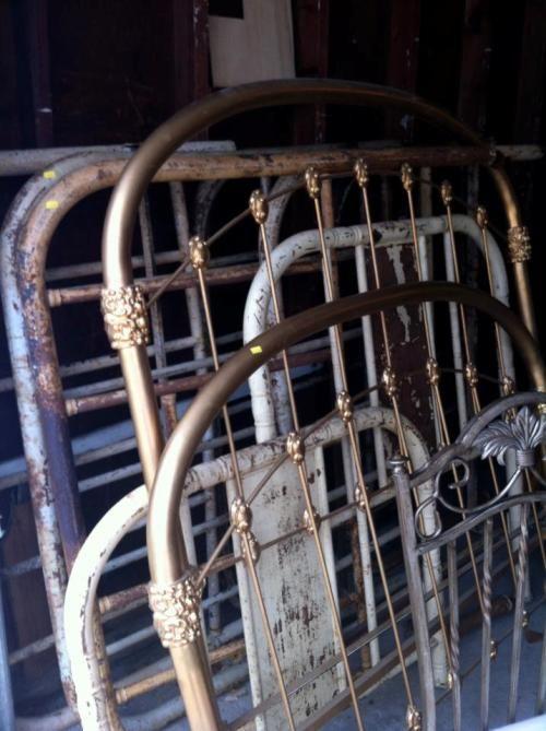 Brass Headboard Bench Diy
