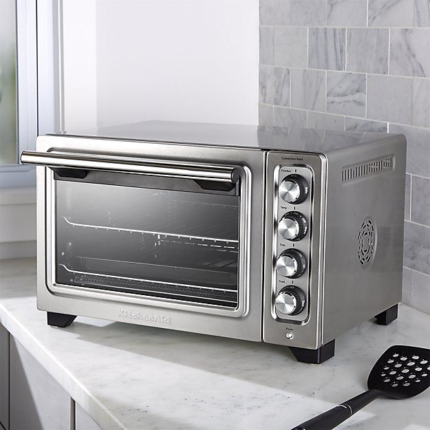 Kitchenaid Compact Convection Toaster Oven Reviews Crate And Barrel Convection Toaster Oven Toaster Oven Kitchenaid Toaster
