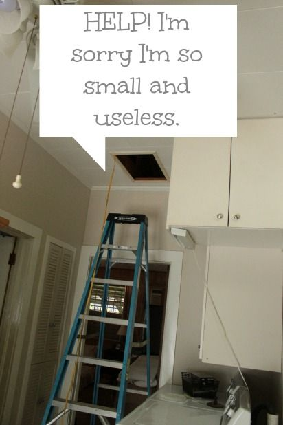 attic access before