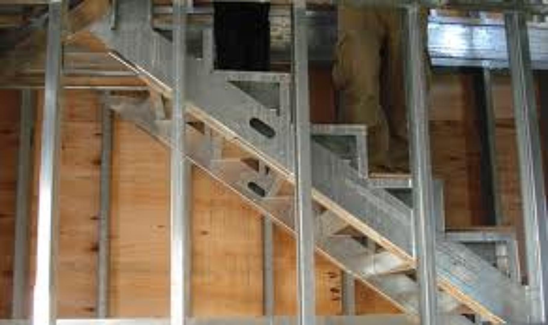 Escada em Steel Frame   METAL STUD FRAMING   Pinterest   Escadas ...