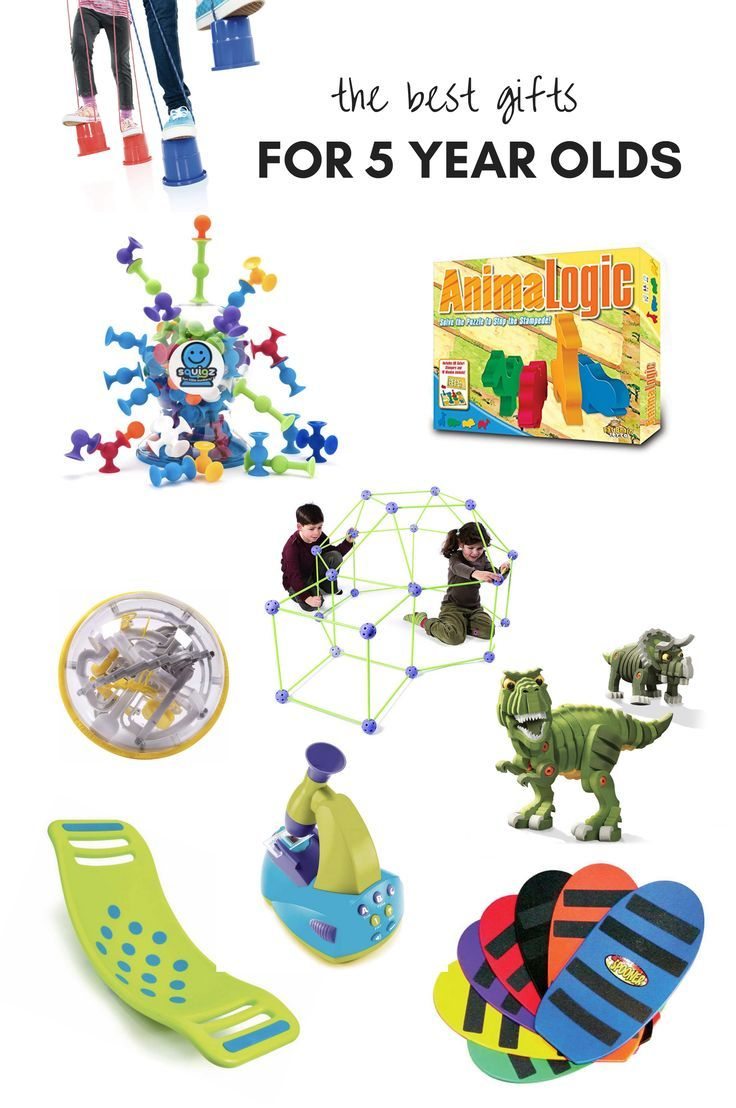 All of our favorite gifts and toys for 5 year olds! These ...