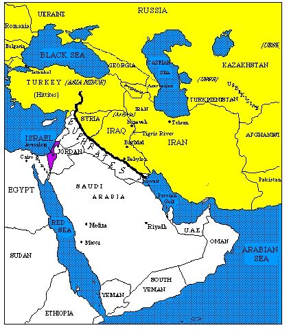 Tigris And Euphrates River World Map.Euphrates River 1 One Of The Most Important Rivers 2 Provided