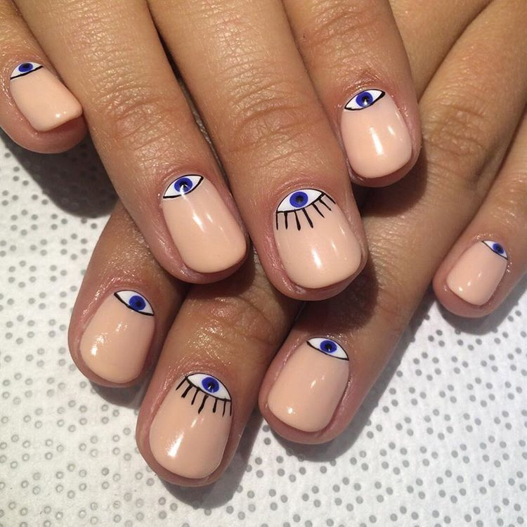 ˏˋ no pressure ˎˊ˗ | Nails | Pinterest | Evil eye, Eye and Evil eye ...