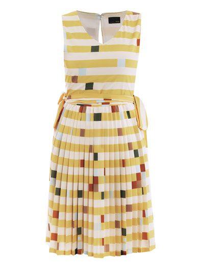 eaa107fdf479 Lego-print full-skirt dress by Fendi