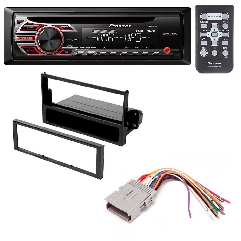 saturn ion l series s series vue 2002 2005 car stereo radio dash installation mounting kit w wiring harness [ 1000 x 1000 Pixel ]