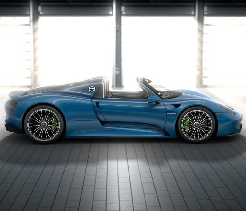 '10 Of The Most Expensive Car Options Money Can Buy' Fancy paying $63,000 for this liquid blue paint? That's after splashing out $845,000 for your super fast and super rare 918 Spyder. Click for much more... #ridiculous #spon of 1