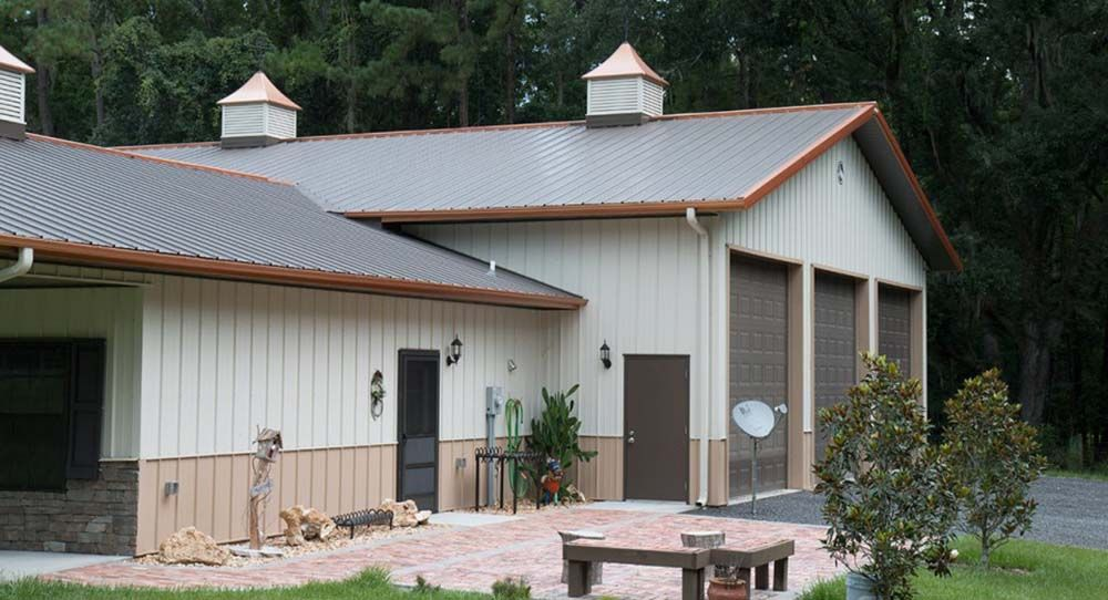 Beautiful Metal Building Home for Small Families Metal