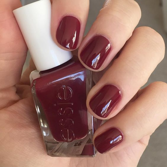 Essie Gel Couture in Gala-vanting   Nails. Colours   Pinterest ...