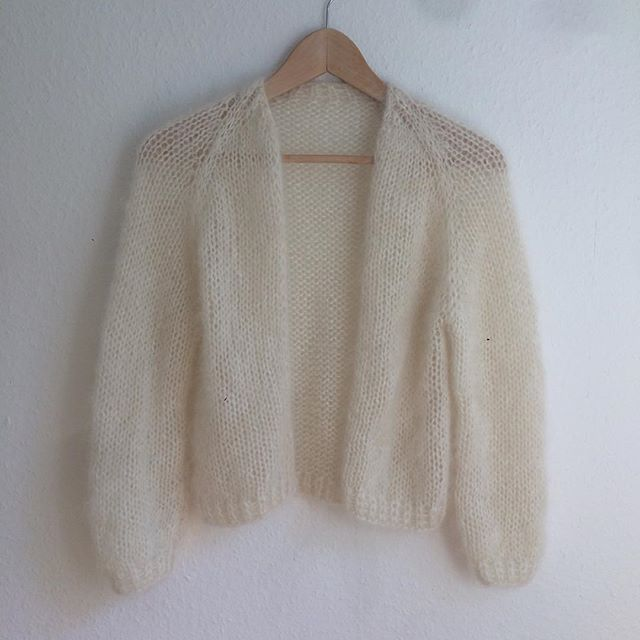 Photo of Anleitung RVU Oversize Strickjacke aus Mohair/Seide • LOTILDA