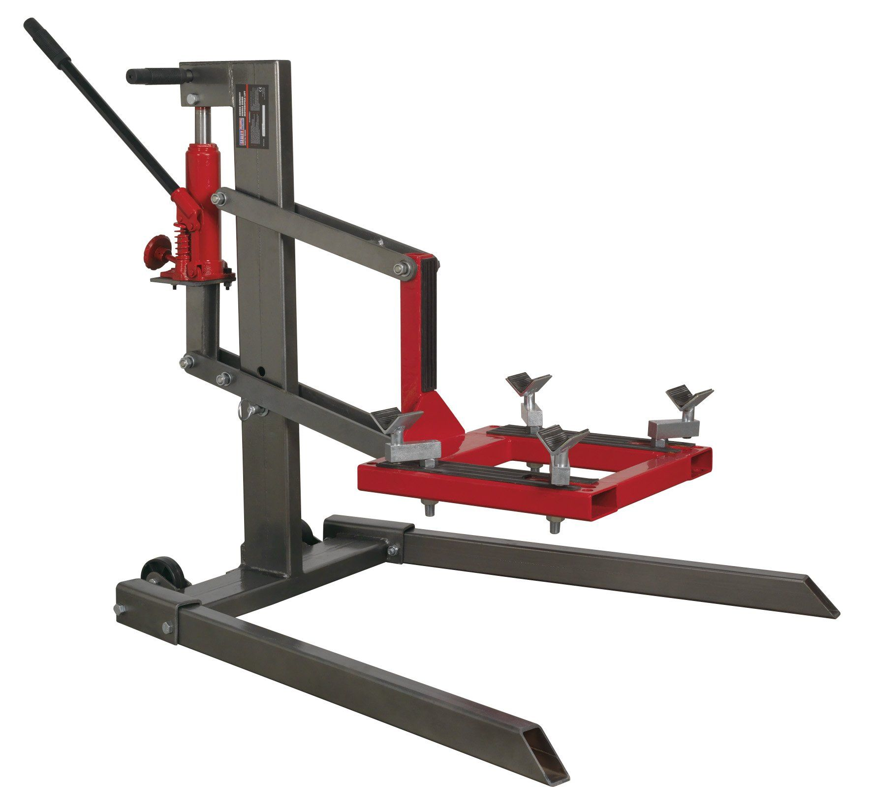 Sealey Tools Mcl500 Single Post Motorcycle Lift 450kg