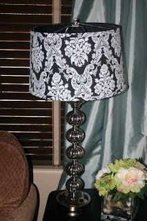 Jennys creative fix lamp shade redo for the home pinterest jennys creative fix lamp shade redo mozeypictures