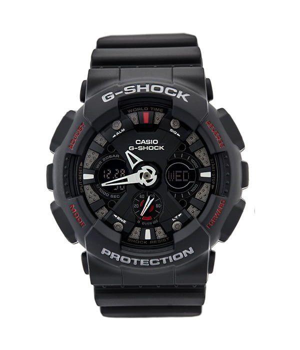 Chiếc đồng hồ được Casio lấy cảm hứng từ chiếc moto chính là G-Shock GA-120-1ADR