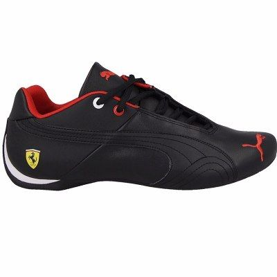 e9252350e88 2016 Tenis Puma Future Cat Piel Mid Cat Ferrari Total Black -   1