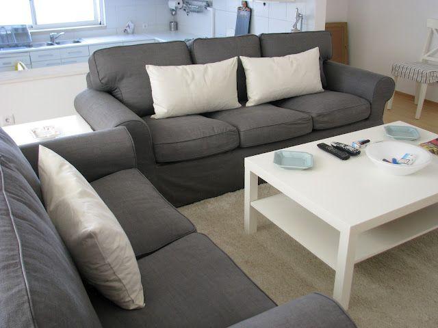 Ikea Ektorp sofas Had one when I moved into my 1st apt They - ikea ektorp gra
