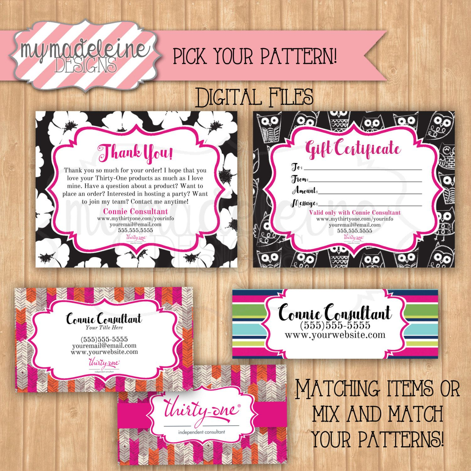Thirty one business package thirty one business card thirty one thirty one business package thirty one business card thirty one gift certificate thank you card catalog magicingreecefo Image collections