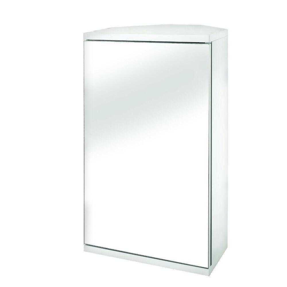 Croydex Simplicity 11-7/8 in. W x 19-7/8 in. H x 9-2/5 in. D Framed ...