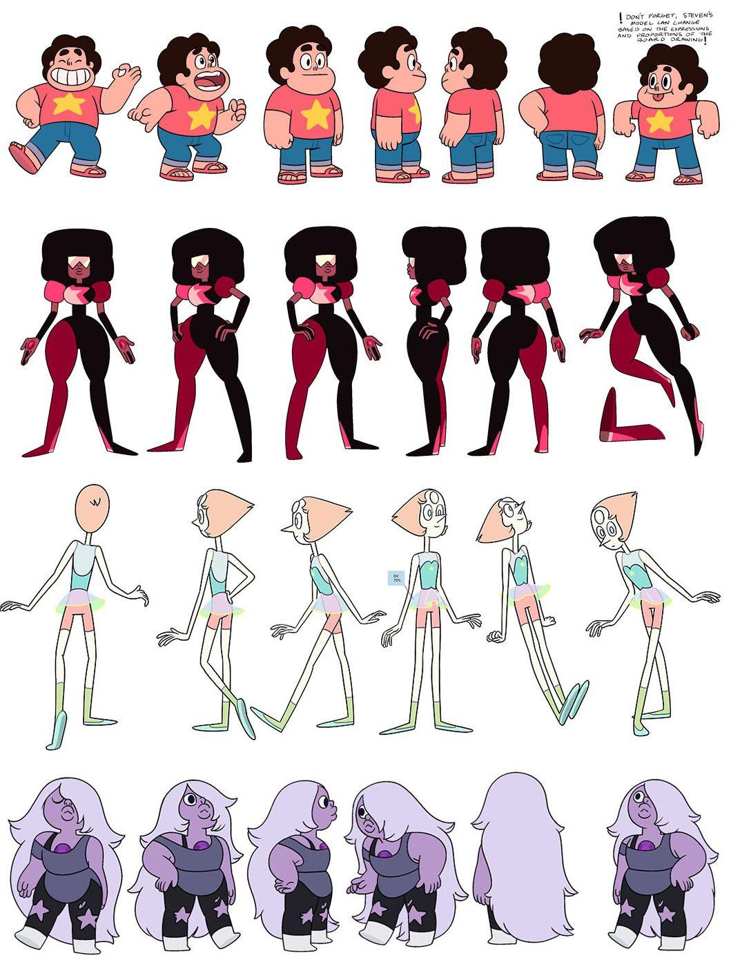 Character Design Personality : Stevenuniverse character steven universe characters