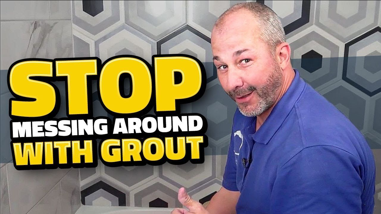 How To Grout Diy For Beginners Youtube Having A Great System For Grouting A Job Is Essential To Success Learn My Diy Grout How To Apply Grout Grout