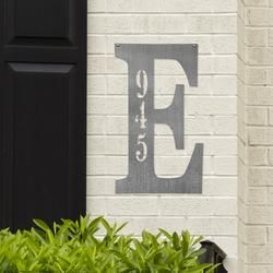 Photo of Groupon Letter Address Plaque- 3 Sizes