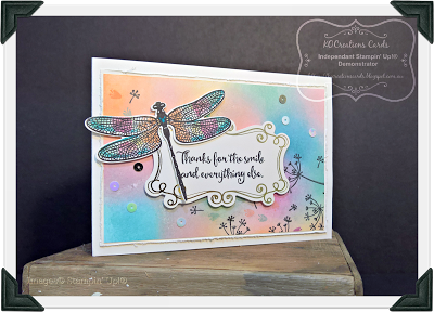 KOCreations Stampin' Up! Blog: Falling For Dragonfly's- #CI01