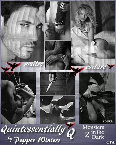 Quintessentially Q (Monsters In The Dark #2) by Pepper