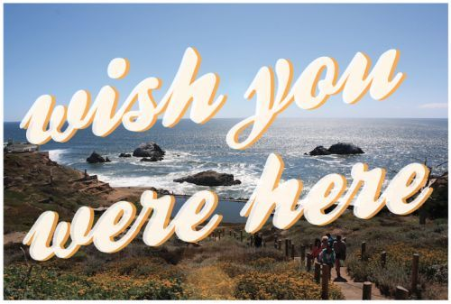 Image result for postcard wish you were here