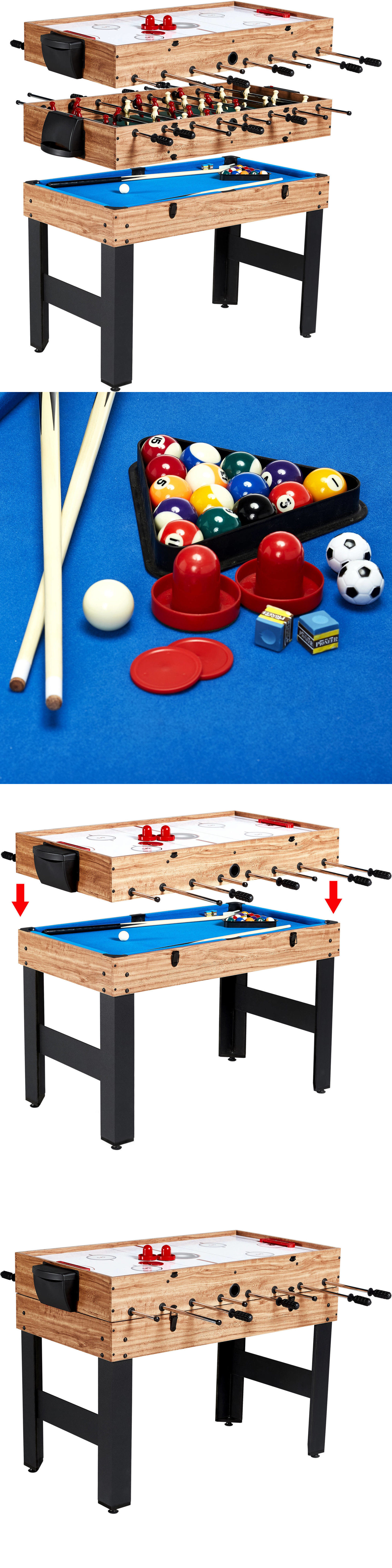 Other Indoor Games 36278: Multi Game Table Billiards Foosball Pool Soccer  Indoor Kids Arcade 3