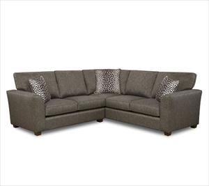 Exceptional Fusion Furniture 2 Piece Gray Sectional   Nebraska Furniture Mart