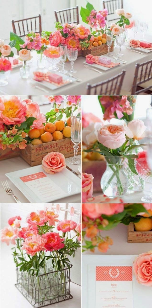 planning for your summer wedding theme wedding table decoration