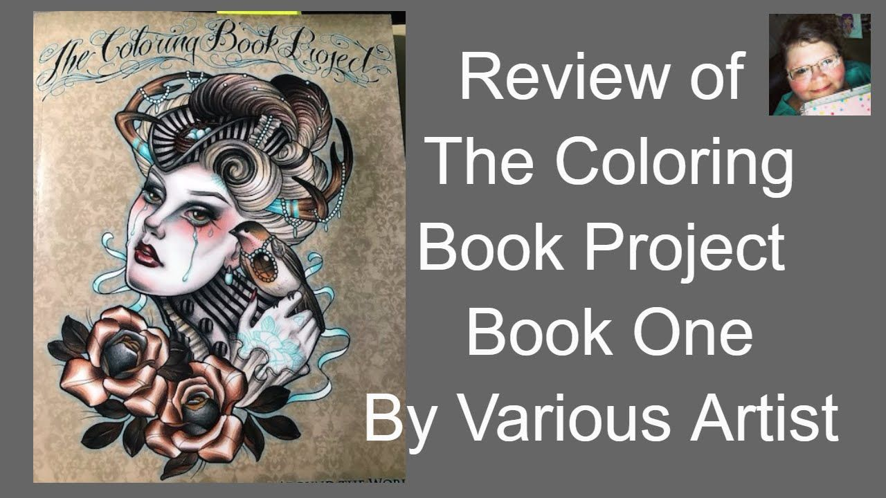 The coloring book review - The Coloring Book Project Book One Review By Various Artist