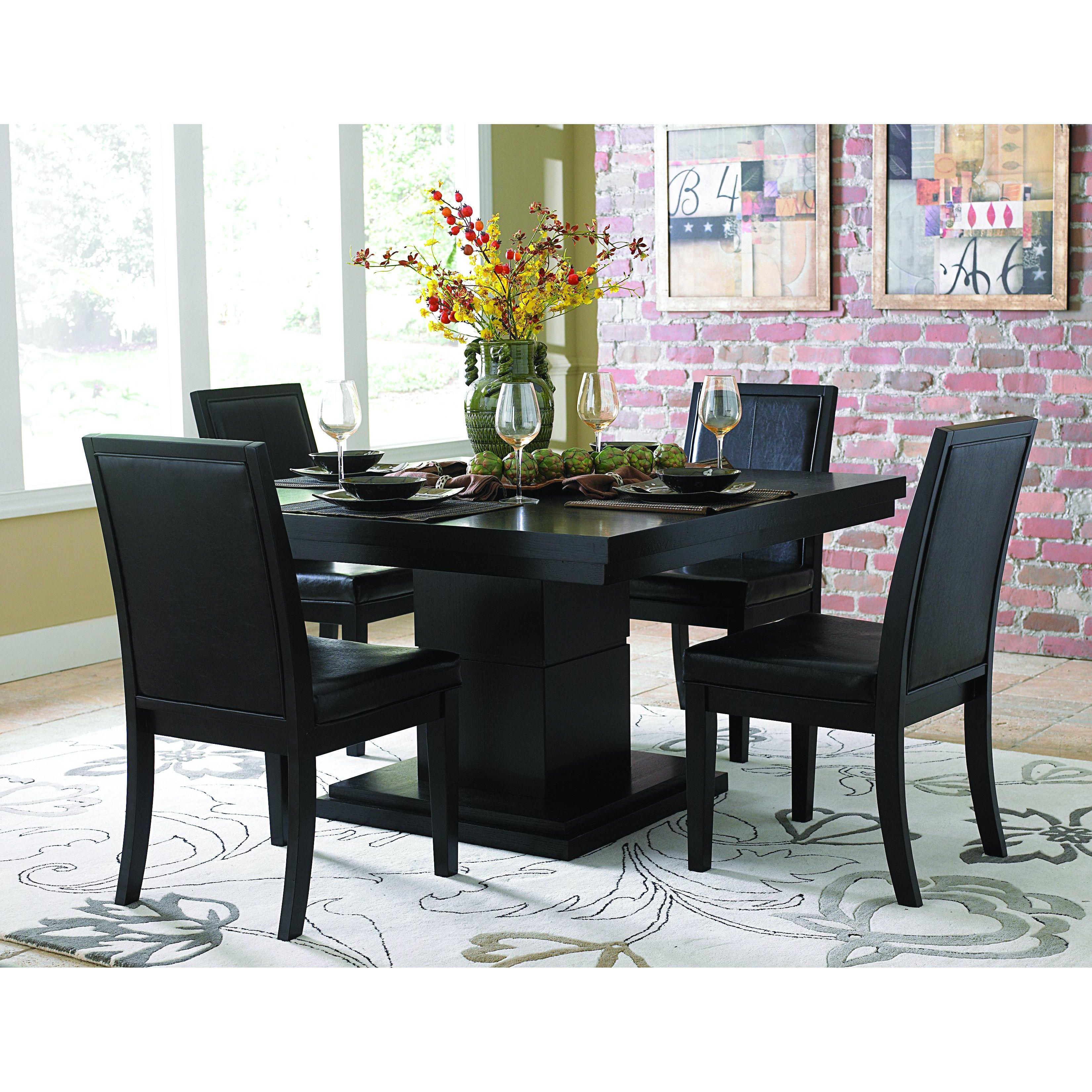 Brayden studio claypool dining table black dining room