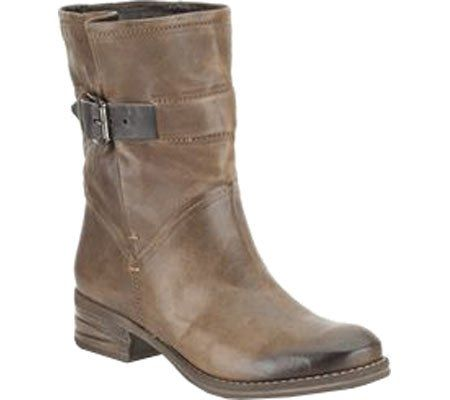 Womens Boots Clarks Mezze Game Taupe Leather