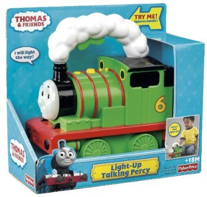 amazon com thomas the train preschool light up talking percy