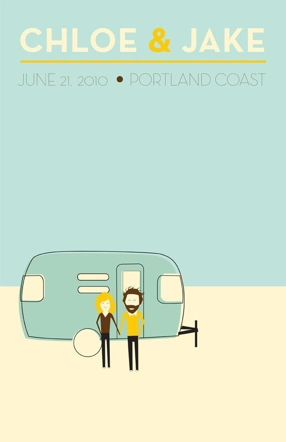 Beach Wedding Poster, from ellothere, #ETSY @Frank Bennett--we need this LOL!