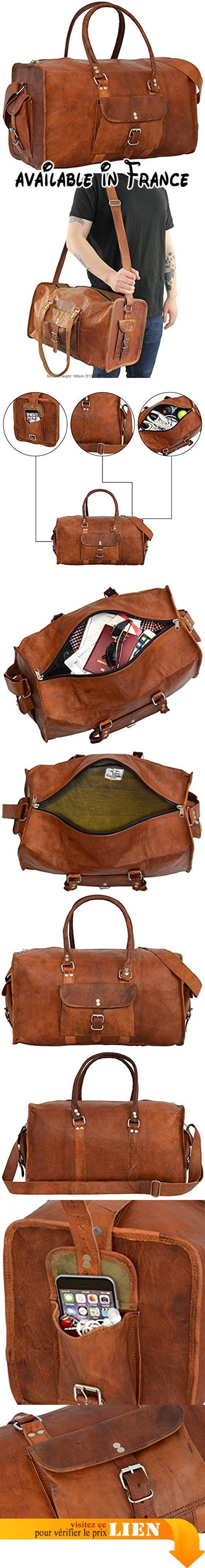 B005RZZQUM   Sac de voyage - Gusti Cuir nature Henry bagage cabine vintage  sac à bandoulière rétro bagage à main homme femme cuir de chèvre marron … c6b87fe1b4e