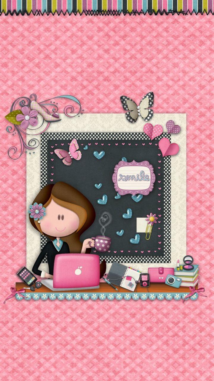 Tee S Iscreens Girl Online Homescreen Wallpapers Backgrounds