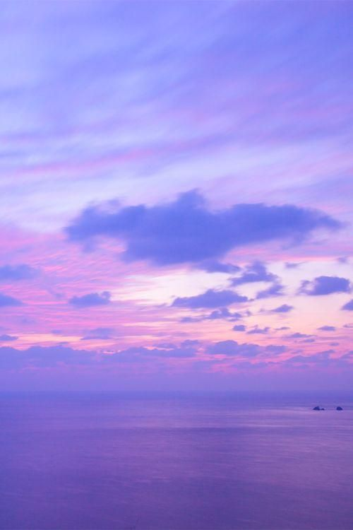 Colourfulness Sky Aesthetic Purple Wallpaper Aesthetic Wallpapers