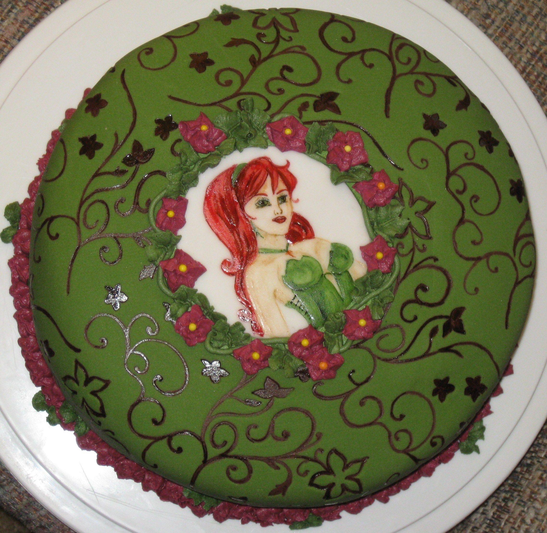 Poison Ivy Cake My Cakes Pinterest The O Jays Cakes
